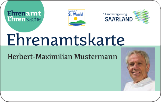 Symbolbild zur Verlinkung zur Seite 'Ehrenamtskarte / Saarland Card'